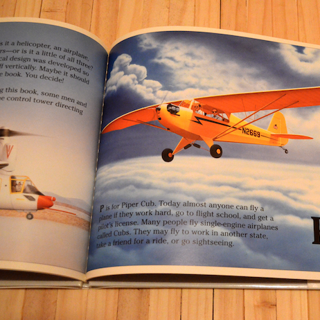 The Aeroplane Alphabet Book - Image #4
