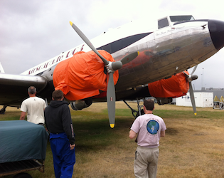 True Aviators assist with DC 3 project in New Zealand  - Image #1