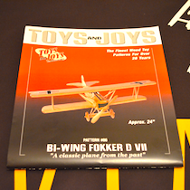 Fokker DV7 Woodwork construction plan and detail kit
