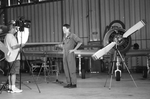 Behind the Scenes - Making of True Aviators Promo