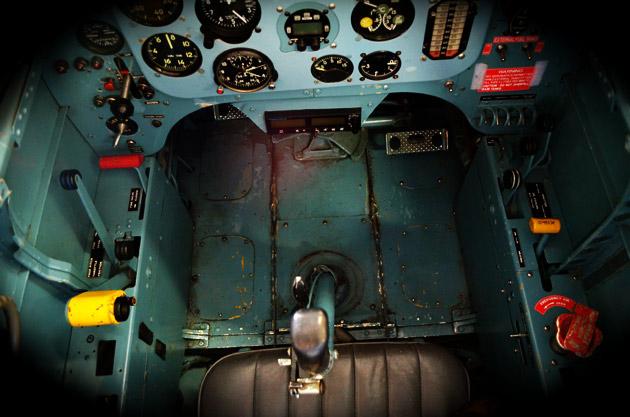 Cockpit Birds Eye View