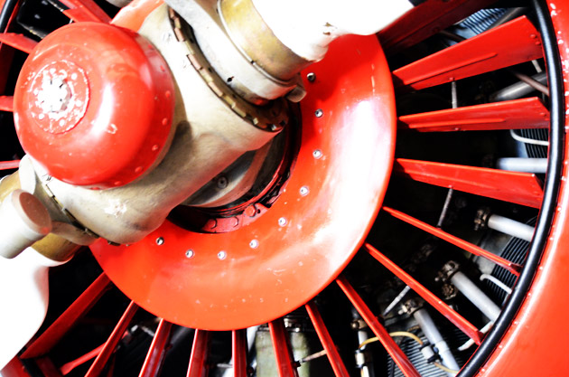 Russian Radial Engine