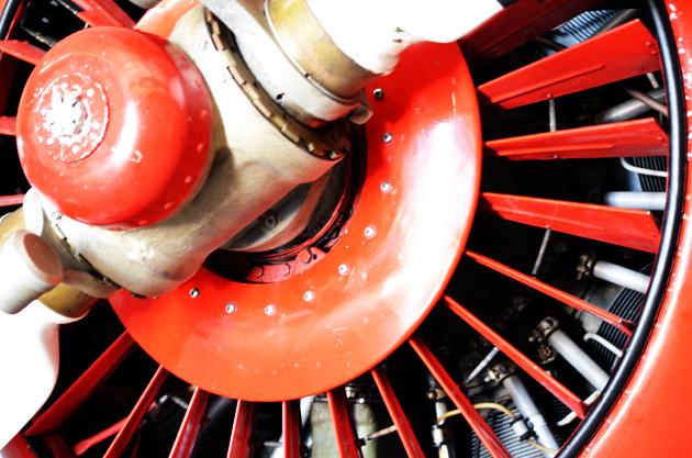 Russian Radial Engine